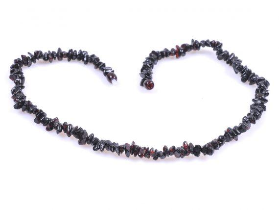 огърлица черен кехлибар