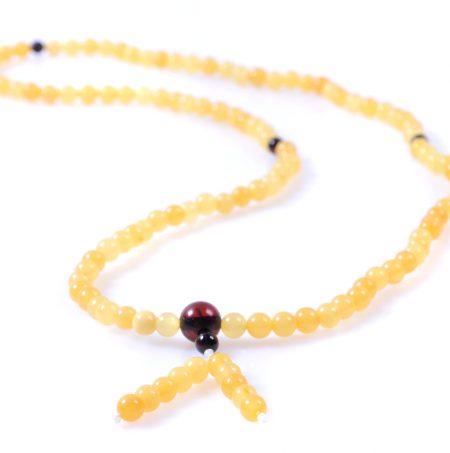 будистка броеница цвят восък