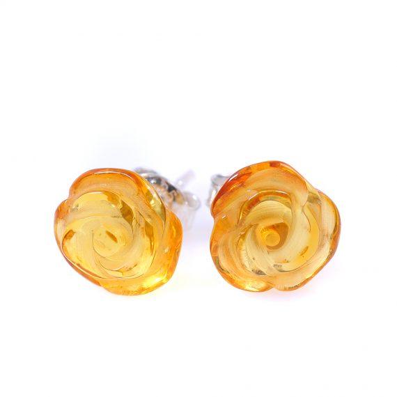 Кехлибарени рози цвят мед